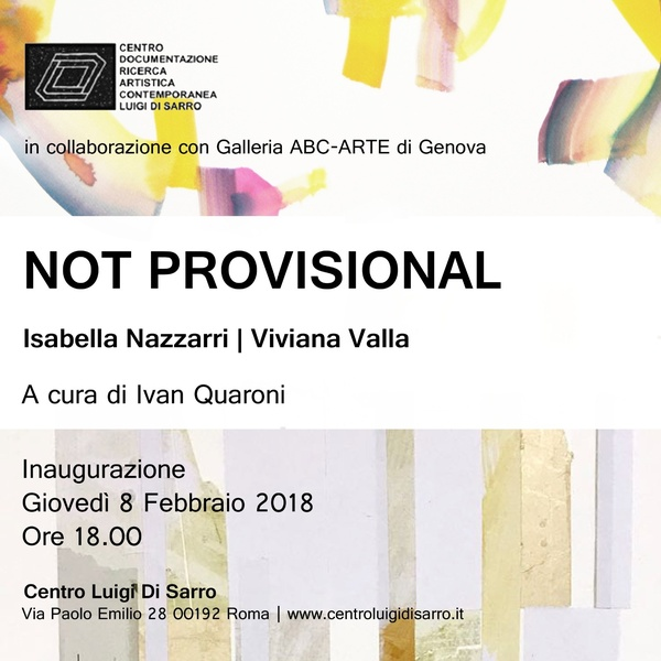 NOT PROVISIONAL - invitation