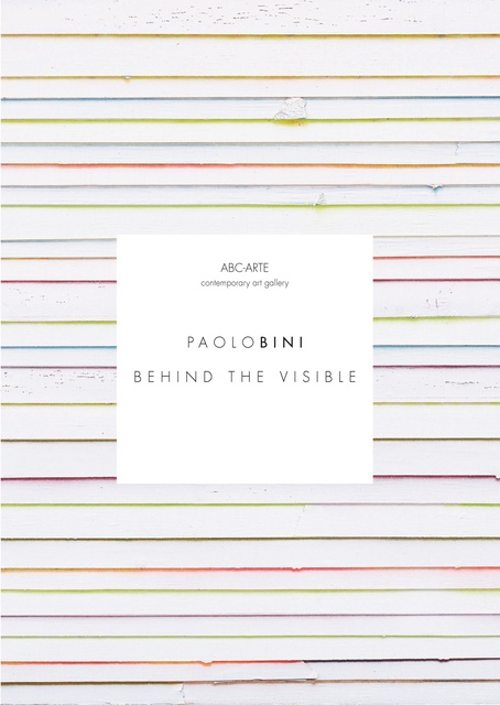 Paolo Bini | Behind the visible