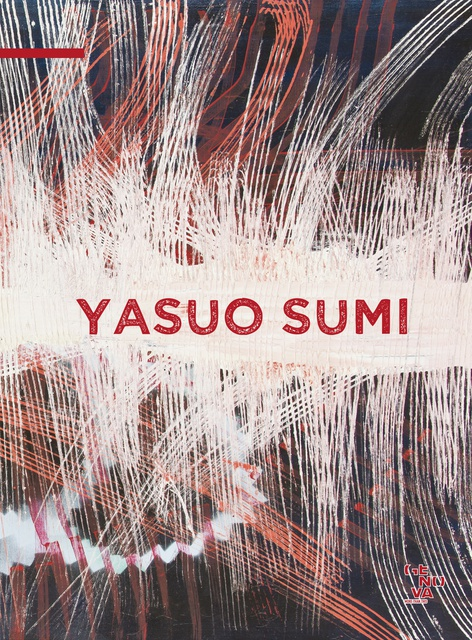Yasuo Sumi NOTHING BUT THE FUTURE catalogue cover